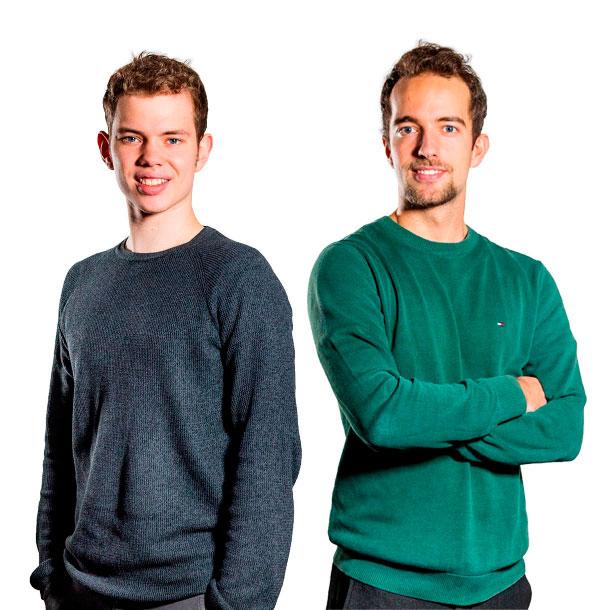 Gustav og Markus fra Movimentum